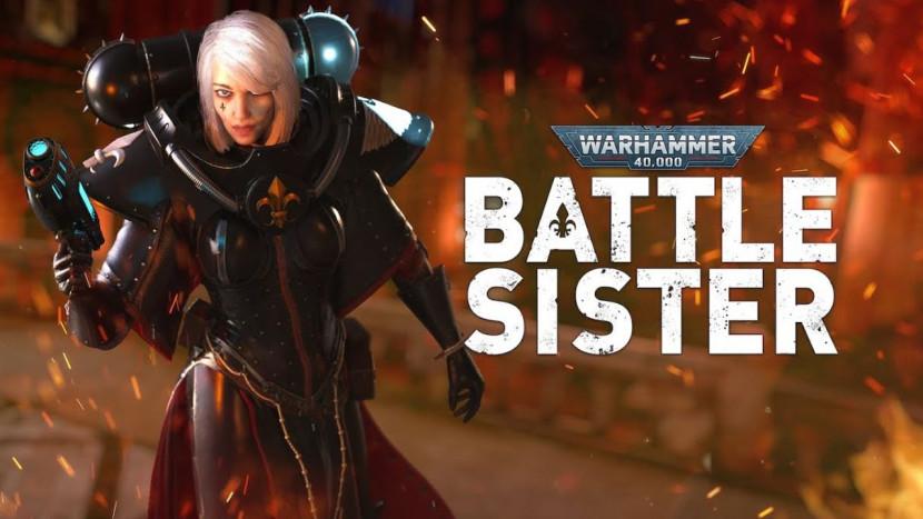 Honderden vijanden afslachten in VR-shooter Warhammer 40,000 Battle Sister