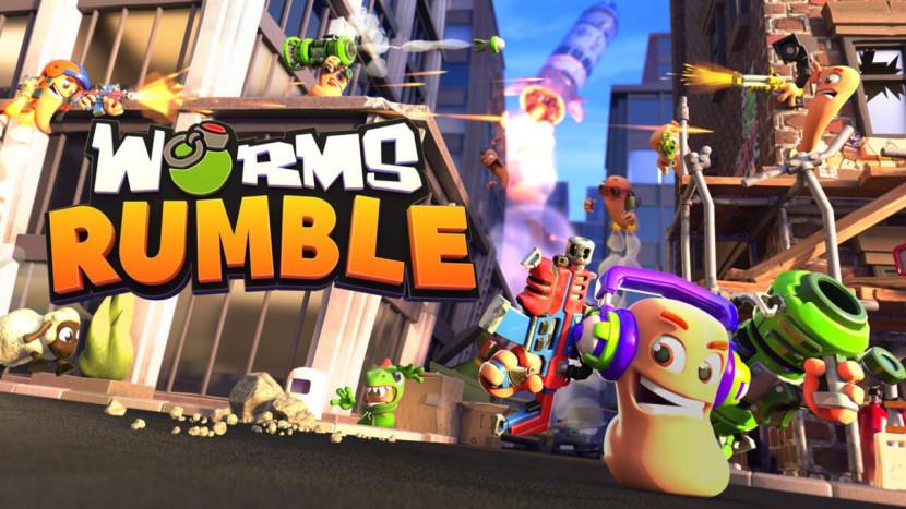 Nieuwe Worms Rumble komt met real-time gevechten en battle royale mode