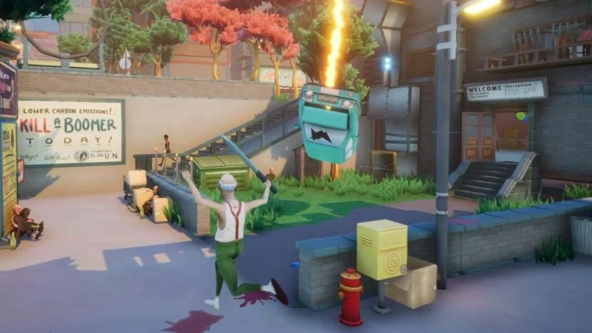 Just Die Already is de nieuwe sandbox game van Goat Simulator designer