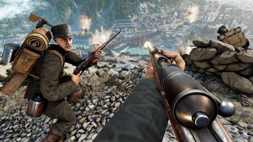 WW1 shooter Isonzo aangekondigd als vervolg op Verdun en Tanneberg