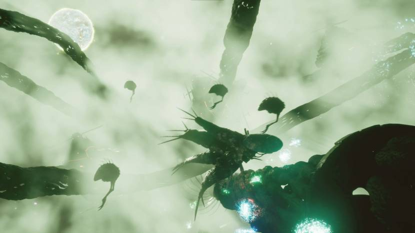 Neem het op tegen paranormale wezens in horror space shooter Haunted Space