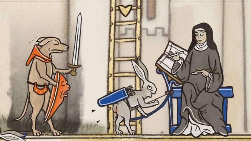Inkulinati haalt inspiratie bij middeleeuwse manuscripten en ziet er geweldig uit