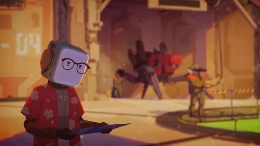 Life of Delta speelt zich af in een post-apocalyptische wereld van robots en gemuteerde hagedissen