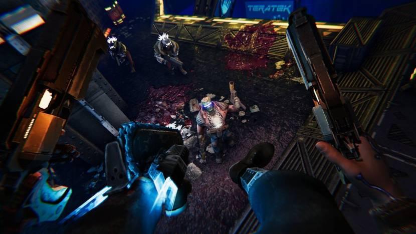 Turbo Overkill is een shooter waarin een van je benen een kettingzaag is