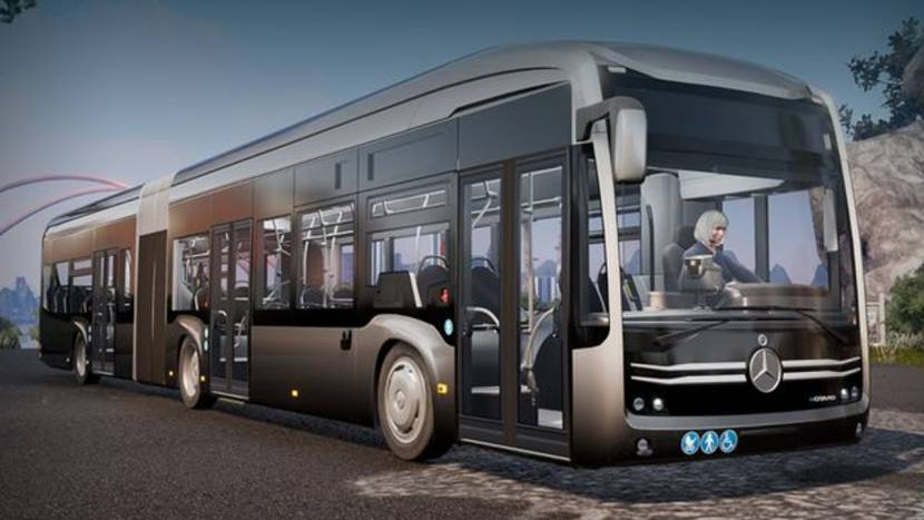Bus Simulator 21 verschijnt in september, Mercedes Benz keert terug