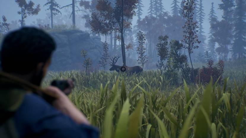 Jachtsimulator Open Country toont zijn omgevingen en een handige hond