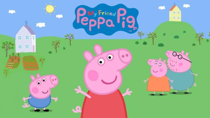 Peppa Pig game op komst