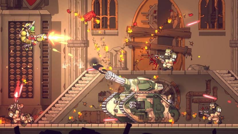 Warhammer 40,000: Shootas, Blood & Teef is de nieuwe game van de makers van Guns, Gore & Cannoli
