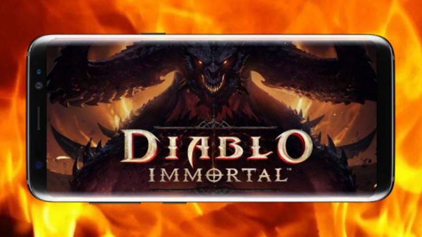 Diablo Immortal uitgesteld naar 2022