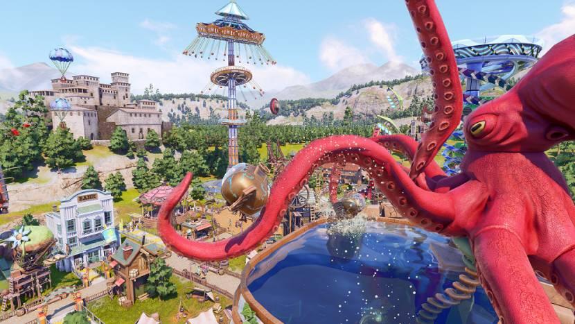 Park Beyond is een knotsgekke theme park game met over-the-top attracties