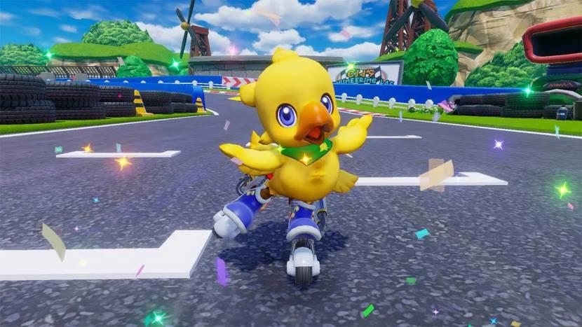 Chocobo GP onthuld: Mario Kart à la Final Fantasy
