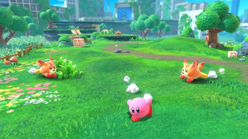 Kirby krijgt voor het eerst een 3D platformer